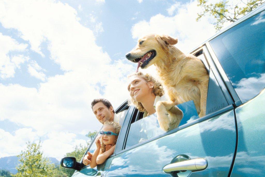 Rodinná dovolenka autom