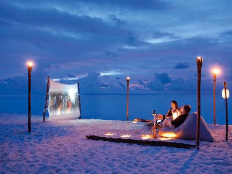 Obľúbené rezorty s kinom pod holým nebom