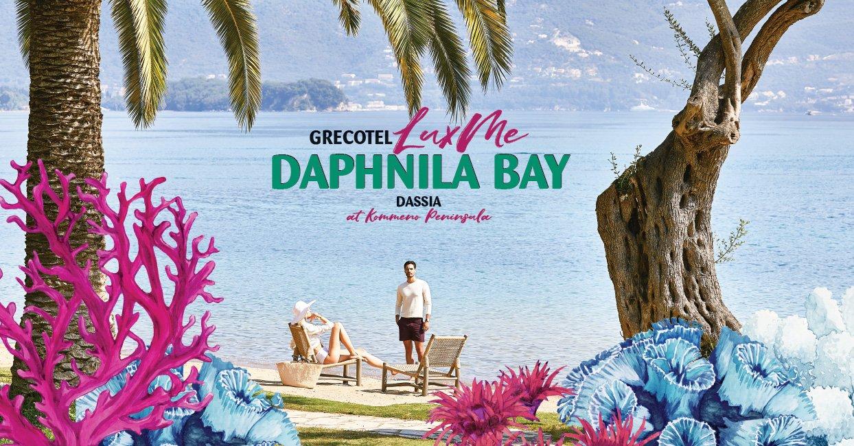 Súťaž o pobyt v hoteli LUX ME Daphnila Bay Dassia