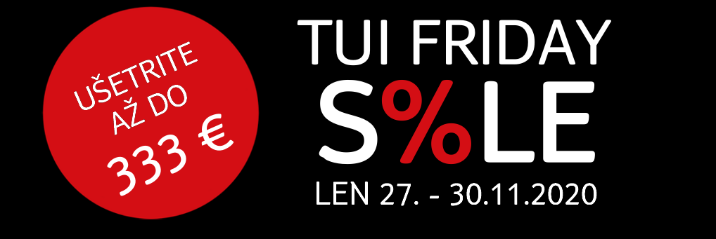 TUI Friday sale