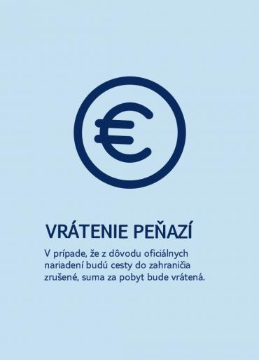 ikona euro vrátenie peňazí