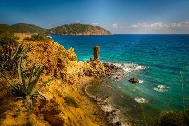 Ibiza pobrežie