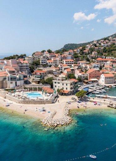 Chorvátsko Istria pohľad na ostrov