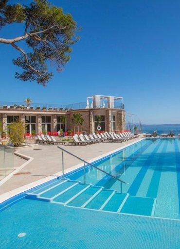 Hotel TUI Blue Jadran pohľad na bazén