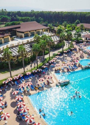 Kalábria Falkensteiner Hotel Garden Calabria výhľad na hotel