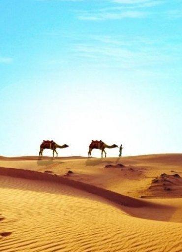 Egypt púšť