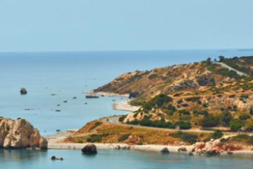 Cyprus pláž