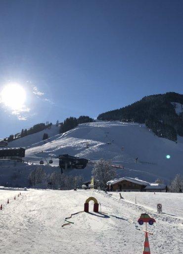 Rakúsko lyžiarsky svah