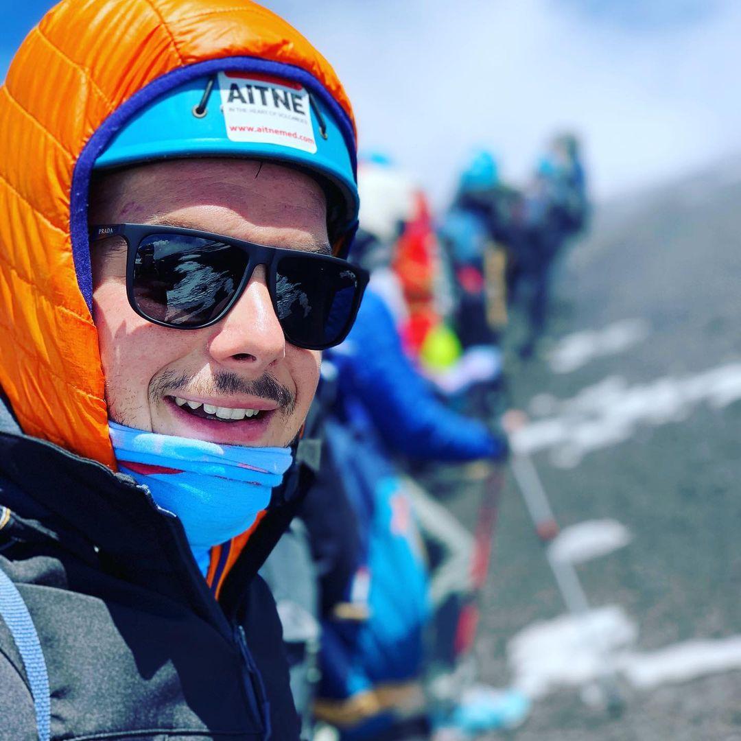 Marián Veigel na horách