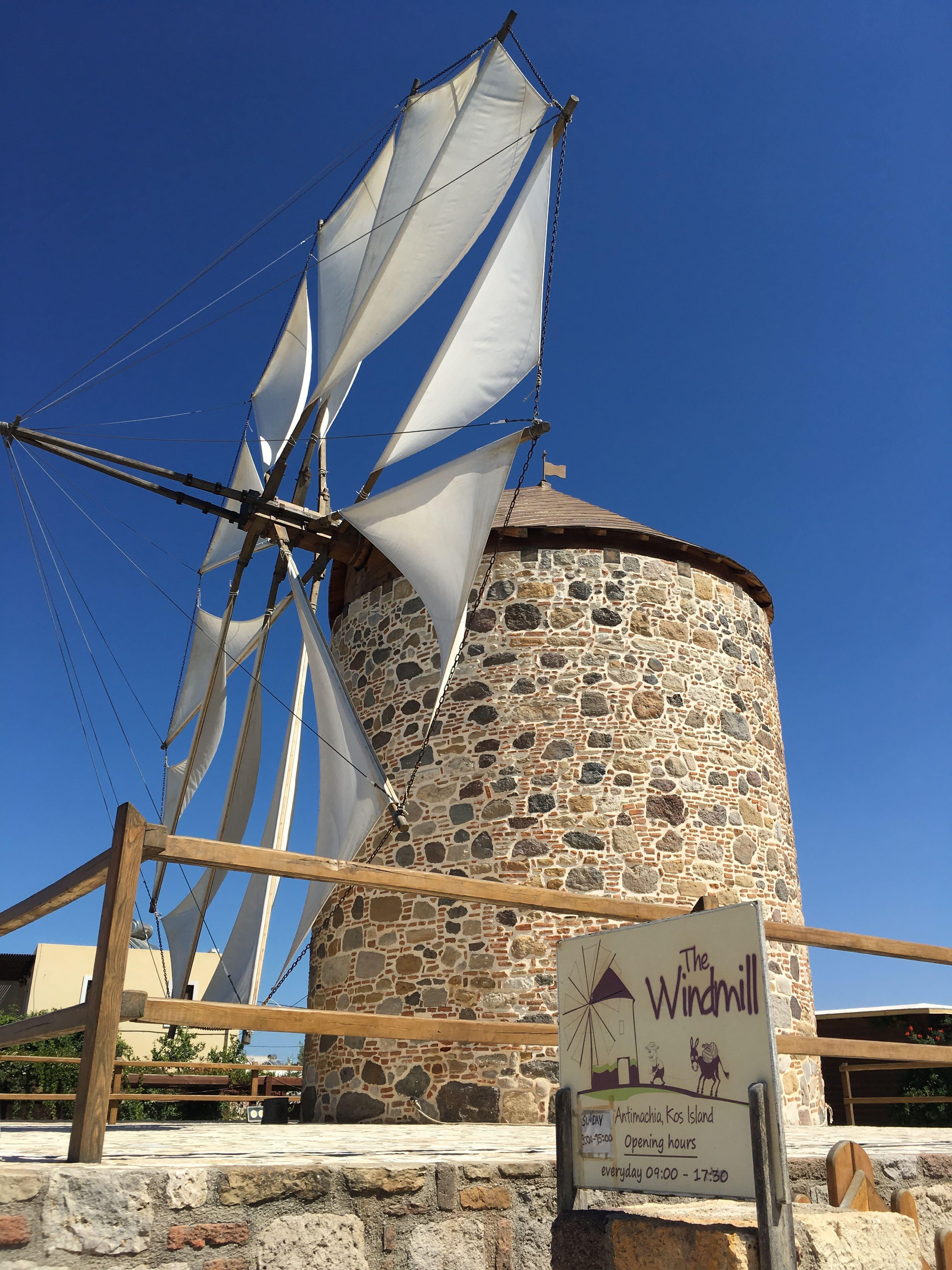 Antimachia veterný mlyn
