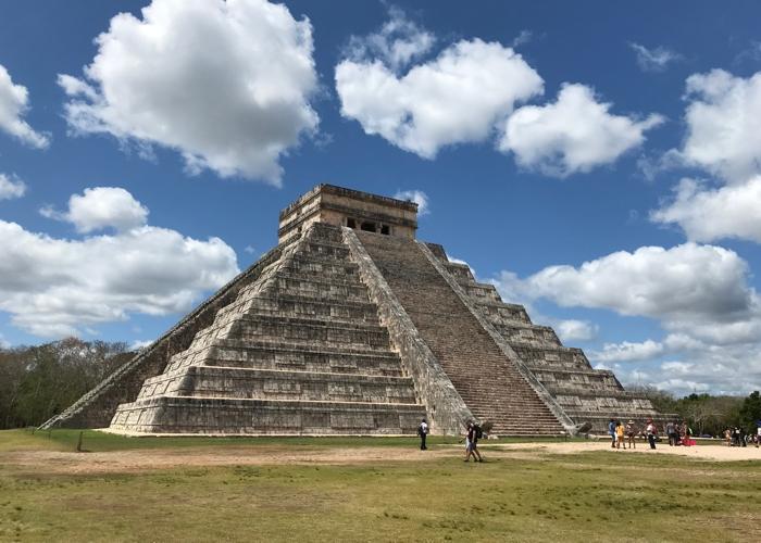 Mexiko Chicken Itza pyramída