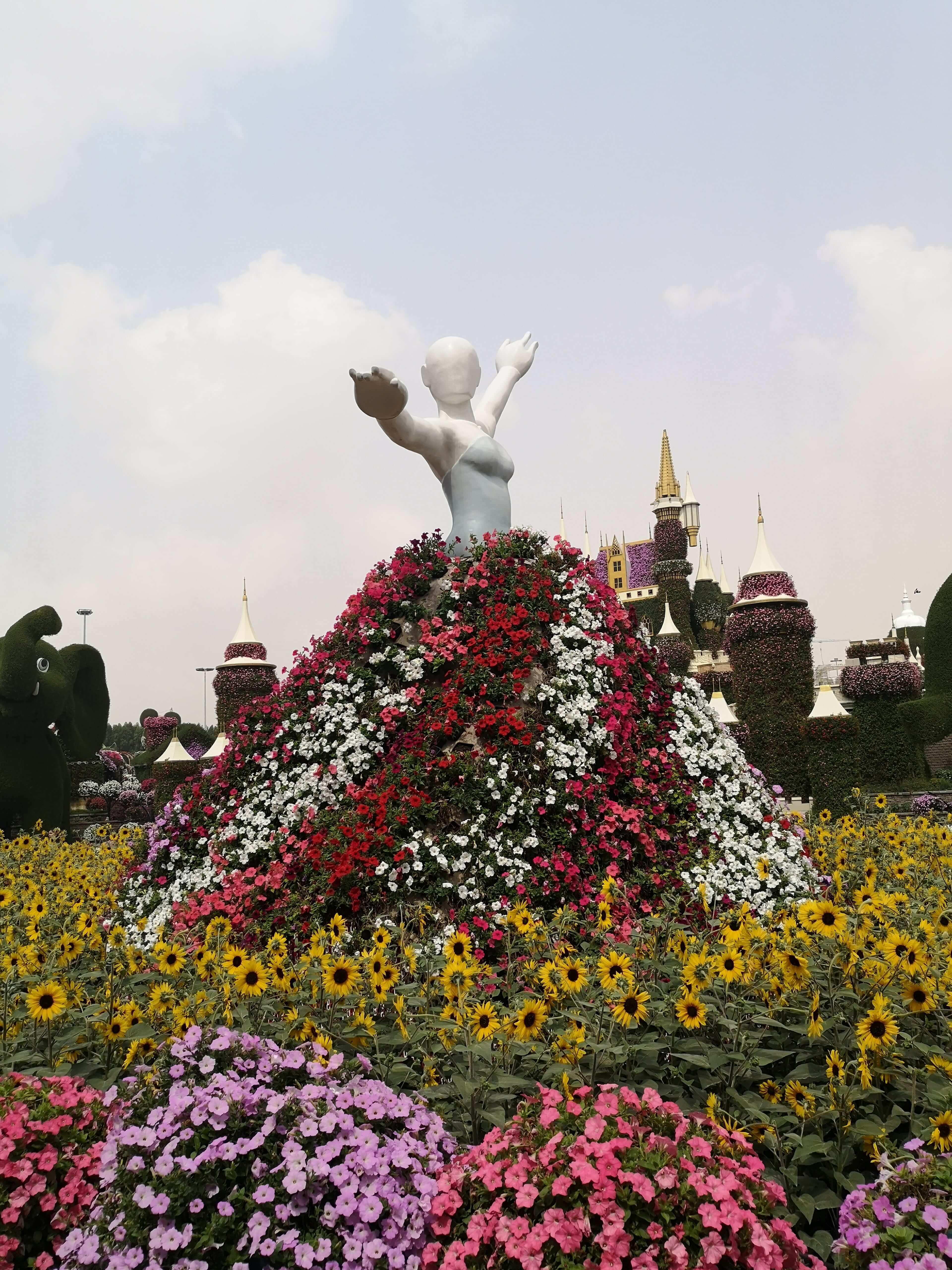 Dovolenka Dubaj Miracle garden