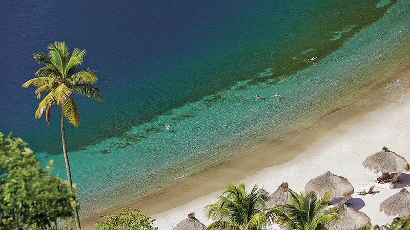 Dovolenka Sv. Lucia hotel Sugar beach