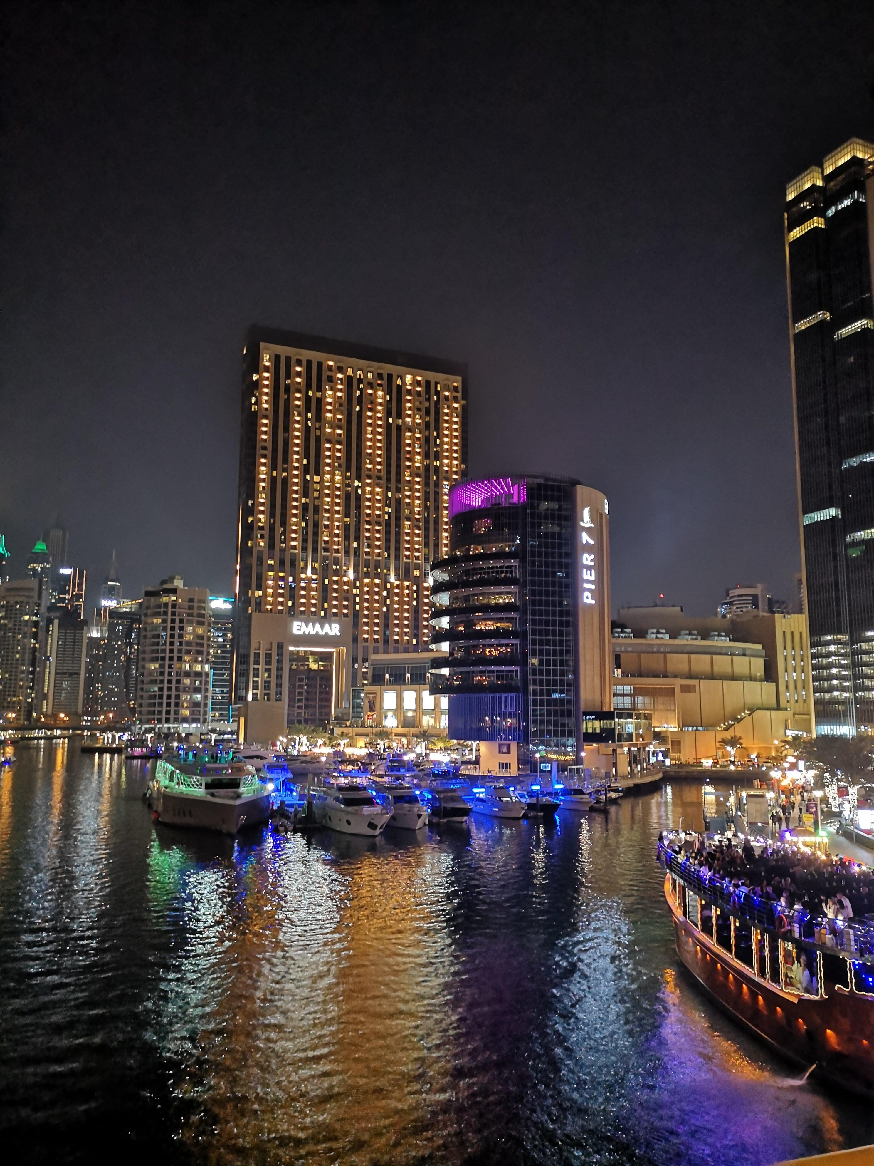 Dovolenka Dubaj marina
