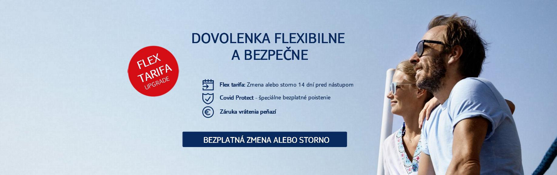 Flex tarifa upgrade banner