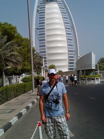 Vladimír Dančík v Dubaji