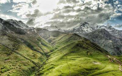 Gruzínsko hory