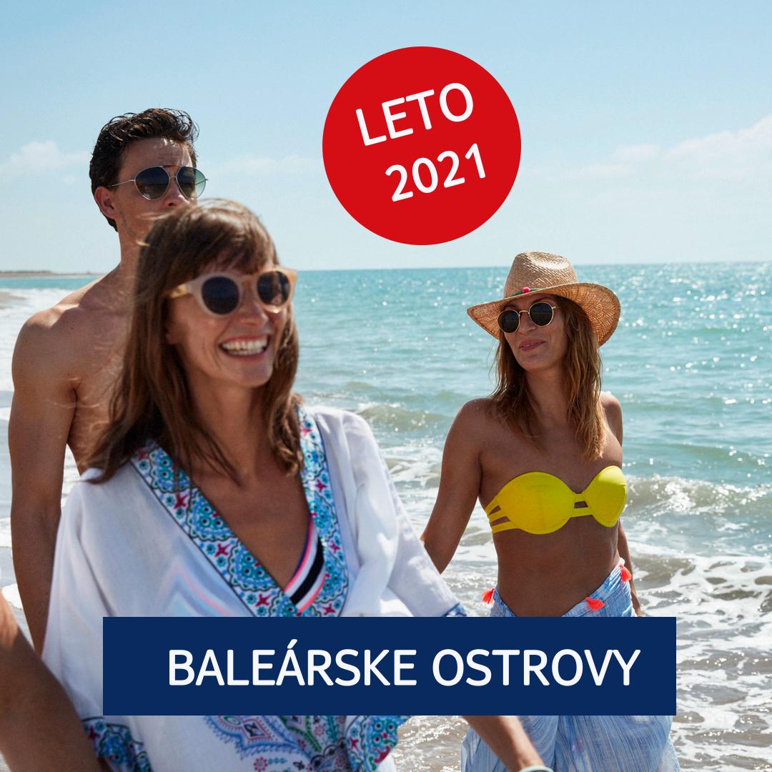 Dovolenka 2021 Baleárske ostrovy