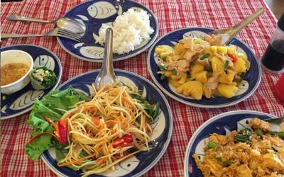Kambodža tradičné jedlo