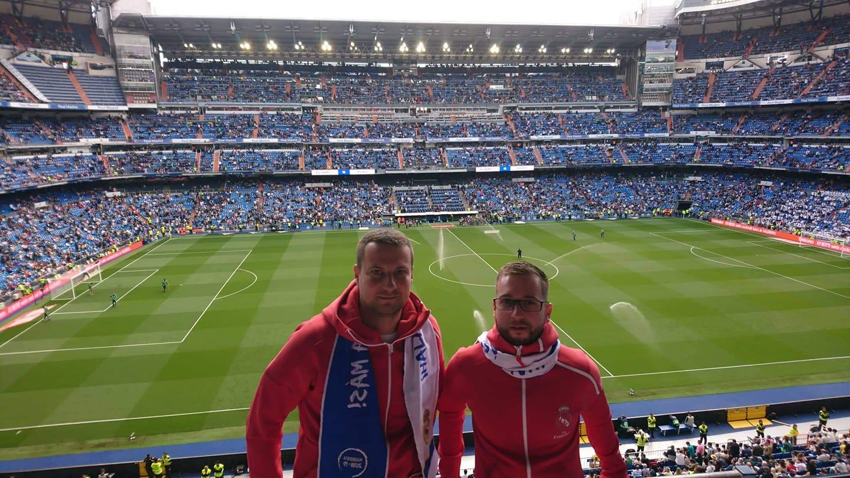 Estadio Santiago Bernabeu Madrid fotka