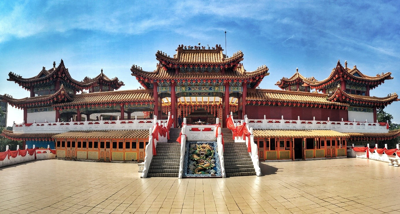 Malajzia chrám