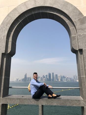 Výhľad na Dohu Tibor Jandura travel expert TUI