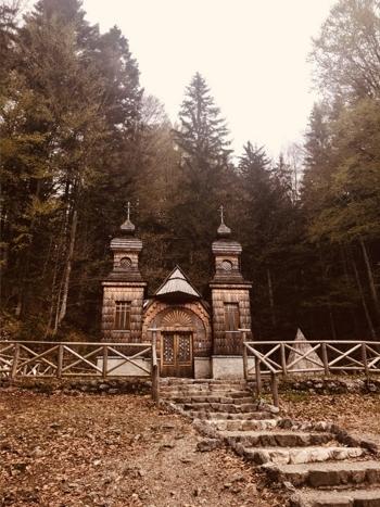 Slovinsko Krajinska Gora Russina Capel