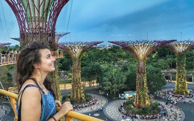 Singapur zábavný park