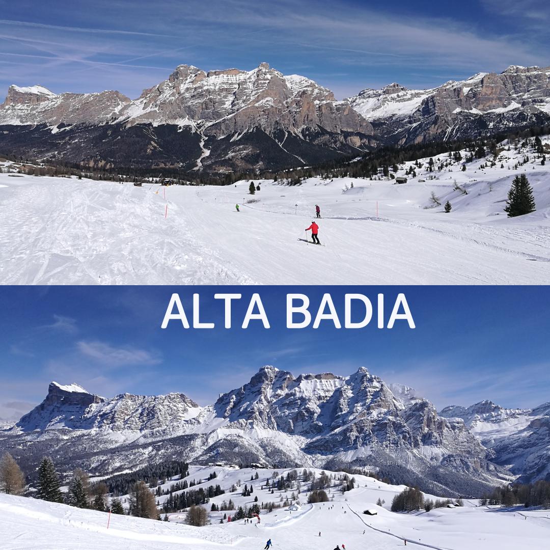 Lyžovačka Taliansko Alta Badia