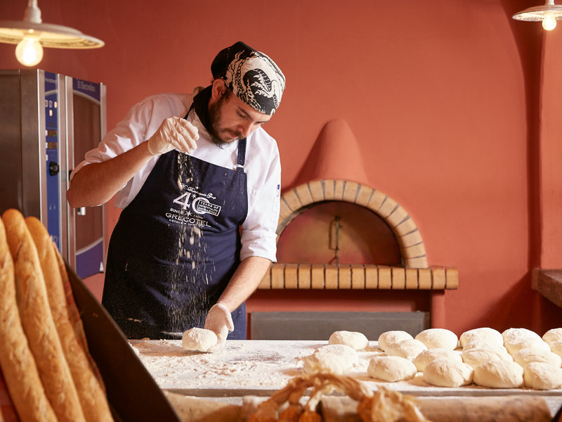 Grecotel Daphnila Bay Dassia príprava chleba